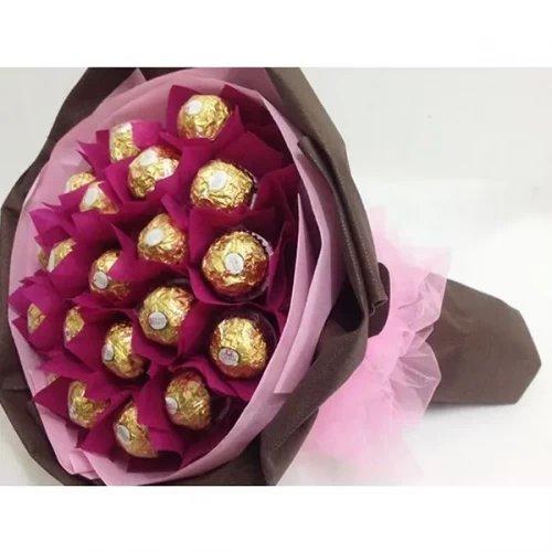 16 PC ferrero rocher chocolate bouquet