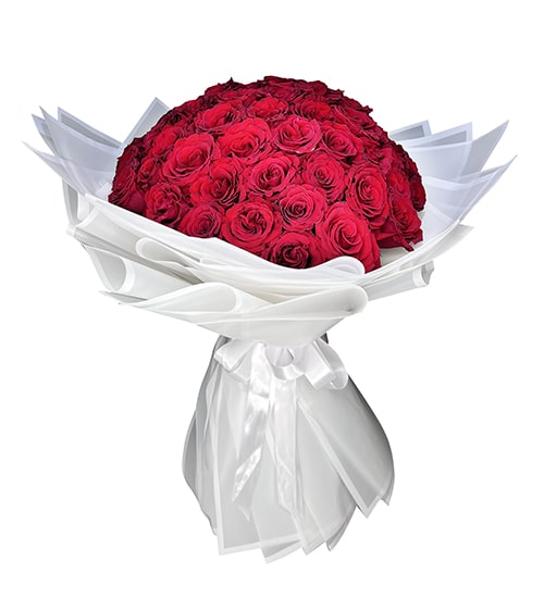 20 Red rose bouquet