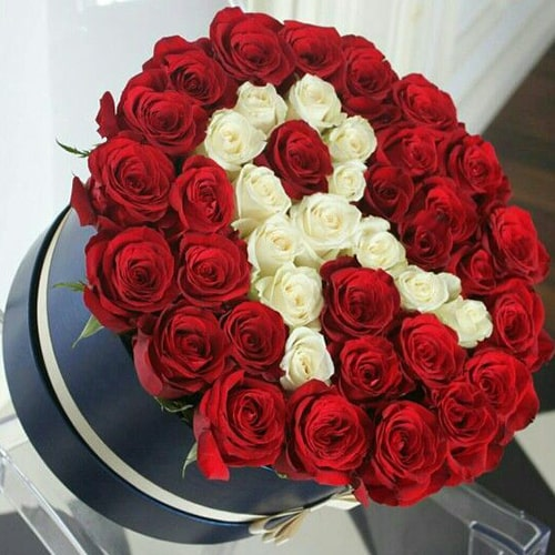 Fascinating Red Roses Flower BOx