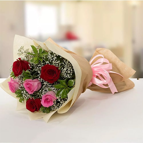 Beauty of red and pink