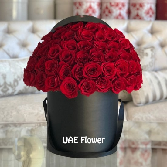 magnetic Red Rose Box