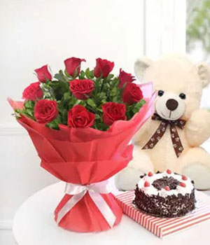Cake and Flower Delivery Online